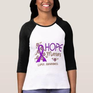 Hope Matters 3 Lupus T-shirts
