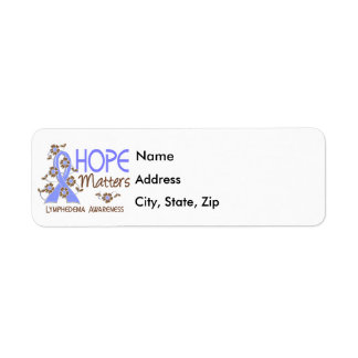 Hope Matters 3 Lymphedema Return Address Label