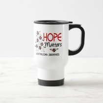 Hope Matters 3 Mesothelioma Travel Mug