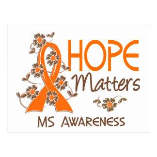 Hope Matters 3 MS Postcard