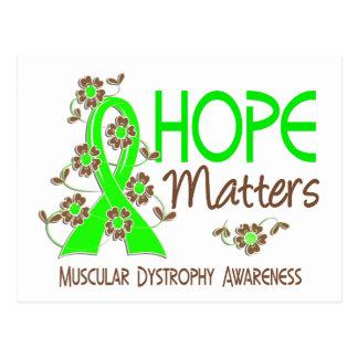 Hope Matters 3 Muscular Dystrophy Postcard