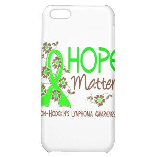 Hope Matters 3 Non-Hodgkin's Lymphoma iPhone 5C Covers