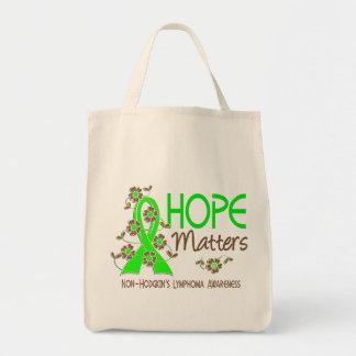Hope Matters 3 Non-Hodgkin's Lymphoma Tote Bag