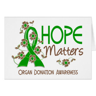 Hope Matters 3 Organ Donation Greeting Cards