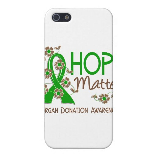 Hope Matters 3 Organ Donation Cover For iPhone 5