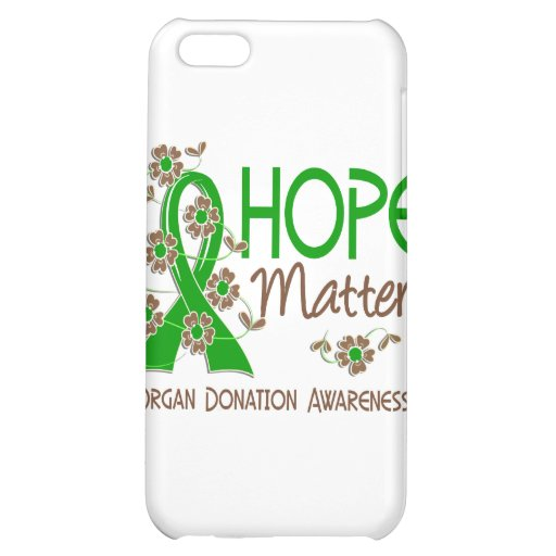 Hope Matters 3 Organ Donation iPhone 5C Cover