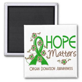 Hope Matters 3 Organ Donation Magnet