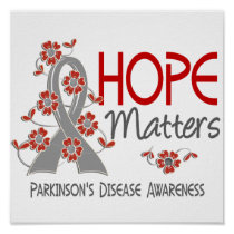 Hope Matters 3 Parkinson's Disease Poster