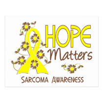 Hope Matters 3 Sarcoma Postcard