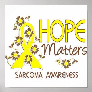 Hope Matters 3 Sarcoma Poster