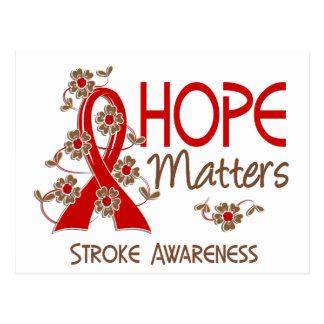 Hope Matters 3 Stroke Postcard