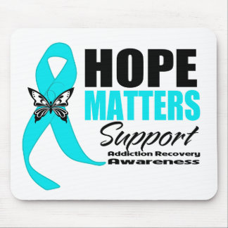 Hope Matters Addiction Recovery Mouse Pad