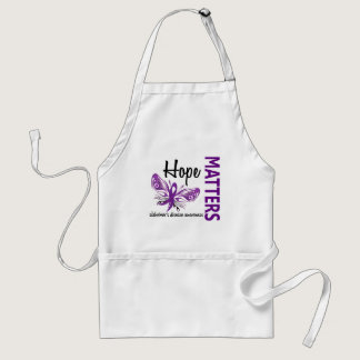 Hope Matters Butterfly Alzheimer's Disease Adult Apron