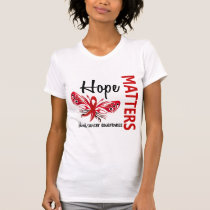 Hope Matters Butterfly Blood Cancer T-Shirt