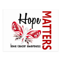 Hope Matters Butterfly Bone Cancer Postcard
