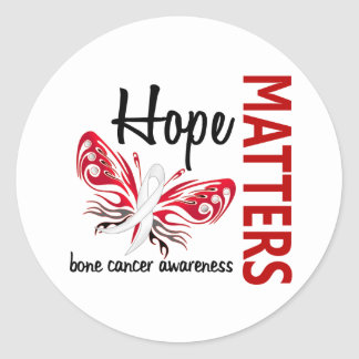 Hope Matters Butterfly Bone Cancer Sticker