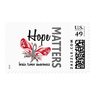 Hope Matters Butterfly Brain Tumor Postage