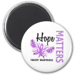 Hope Matters Butterfly Cancer Refrigerator Magnet