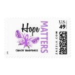 Hope Matters Butterfly Cancer Stamp