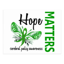 Hope Matters Butterfly Cerebral Palsy Postcard
