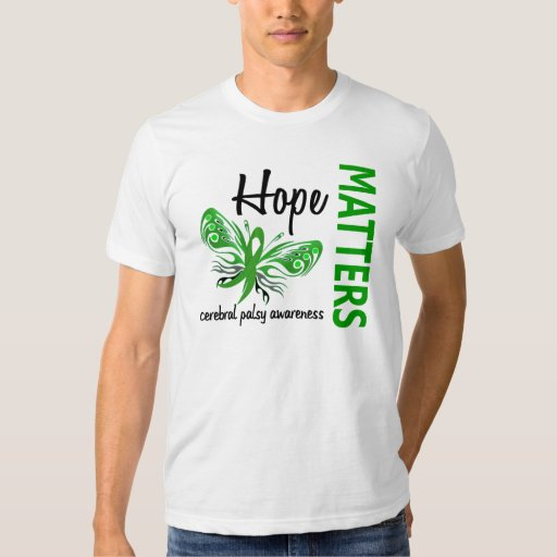 Hope Matters Butterfly Cerebral Palsy Tees