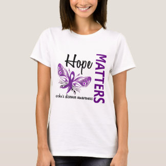 Hope Matters Butterfly Crohn's Disease T-Shirt