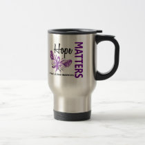 Hope Matters Butterfly Crohn's Disease Travel Mug