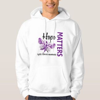 Hope Matters Butterfly Cystic Fibrosis Hoodie