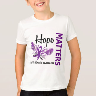 Hope Matters Butterfly Cystic Fibrosis T-Shirt