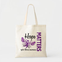 Hope Matters Butterfly Cystic Fibrosis Tote Bag
