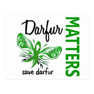 Hope Matters Butterfly Darfur Postcard