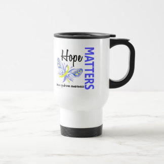 Hope Matters Butterfly Down Syndrome 15 Oz Stainless Steel Travel Mug