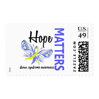 Hope Matters Butterfly Down Syndrome Postage