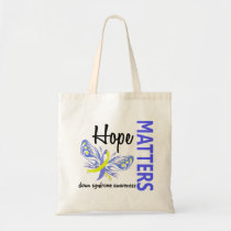 Hope Matters Butterfly Down Syndrome Tote Bag