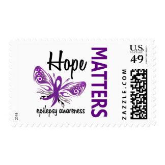 Hope Matters Butterfly Epilepsy Postage