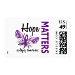 Hope Matters Butterfly Epilepsy Stamp