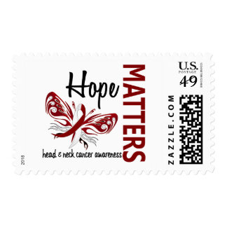 Hope Matters Butterfly Head And Neck Cancer Stamps