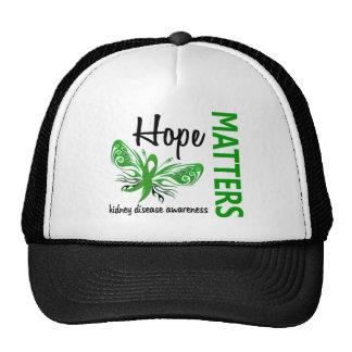 Hope Matters Butterfly Kidney Disease Trucker Hat