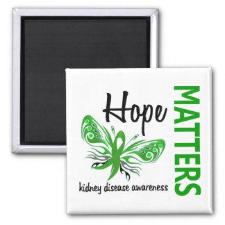 Hope Matters Butterfly Kidney Disease Refrigerator Magnets