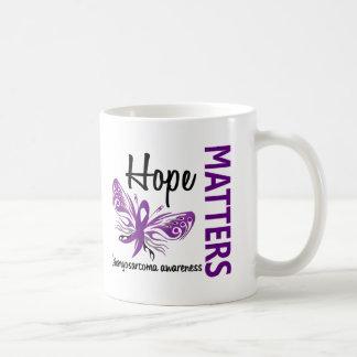 Hope Matters Butterfly Leiomyosarcoma Coffee Mug