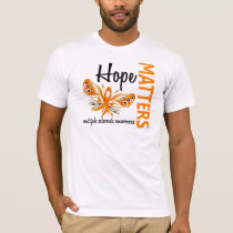 Hope Matters Butterfly Multiple Sclerosis T-Shirt