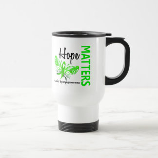Hope Matters Butterfly Muscular Dystrophy 15 Oz Stainless Steel Travel Mug