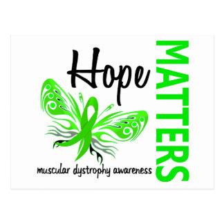 Hope Matters Butterfly Muscular Dystrophy Postcard