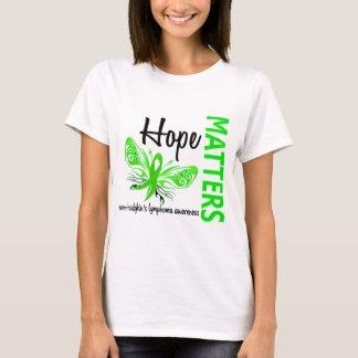 Hope Matters Butterfly Non-Hodgkin's Lymphoma T-Shirt