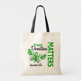 Hope Matters Butterfly Organ Donation Tote Bag