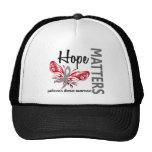 Hope Matters Butterfly Parkinson's Disease Mesh Hats