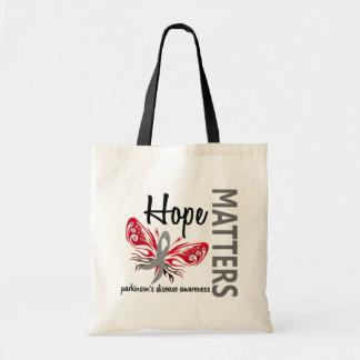 Hope Matters Butterfly Parkinson's Disease Tote Bag