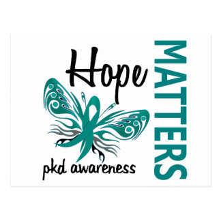 Hope Matters Butterfly PKD Postcard