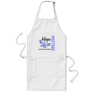 Hope Matters Butterfly Prostate Cancer Long Apron