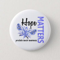 Hope Matters Butterfly Prostate Cancer Button